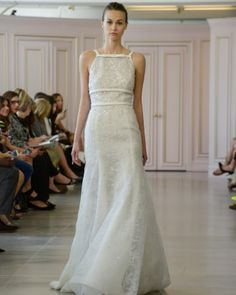 """See the """"Oscar de la Renta"""" in our Best Wedding Dresses From the Spring 2016 Bridal Shows gallery"""