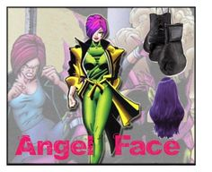 """""""Angel Face"""" by wannabefamous212 on Polyvore featuring art, marvel, villains and AngelFace"""