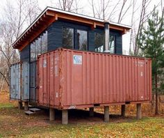 Shipping Container Housing by Intermodal Design: These Guys Are Good : TreeHugger