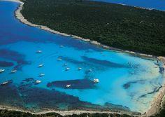 Sakarun beach dugi otok, close to Zadar