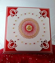 Double Stitched Circle by tmcalderini - Cards and Paper Crafts at Splitcoaststampers
