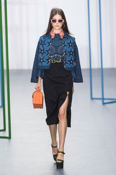Pin for Later: Holly Fulton Reworks '70s Psychedelia With a Side of Surrealism Holly Fulton Spring 2016