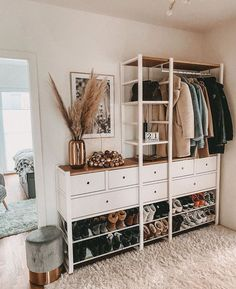 Elvarli Ikea, Ikea Hall, Ikea Closet, Spare Room, My New Room, Home Bedroom, Home And Living, Room Inspiration, Sweet Home