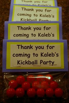 what! People have kickball birthday parties for children? And I thought it was just an excuse to drink with other adults. This is for the WAKA peeps