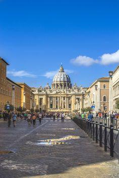 ITAP of St. Peter's Basilica Vatican City http://ift.tt/2ewu8zz
