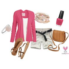 Summer Pink, created by pbmhuck on Polyvore
