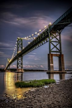 500px / The Blue Hour at Mount Hope Bridge by Frank Grace