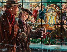 Warm & Inviting, art by Albert Dorne