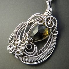 AAA Lemon Smokey Quartz Sterling Silver by SamBraundJewellery, £250.00