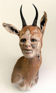 Gazelle by Kate Clark (www.kateclark.com) interesting ...but decidedly creepy!!!