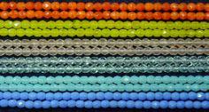 100 Preciosa 4mm Fire Polished Glass Orange Yellow Pink Blue Aqua U Pick Beads