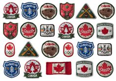 Super rad Canada patches by Arcade.