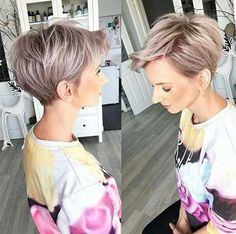 60 Stunning Pixie Haircut Ideas for This New Season Stylish Pixie Haircut; Super Muy Corto Pixie Cortes de pelo Y Colores de Pelo para Long Pixie Hairstyles, Haircuts For Fine Hair, Short Pixie Haircuts, Short Hair Cuts, Straight Hairstyles, Fine Hairstyles, Long Pixie Bob, Hairstyle Short, Edgy Pixie Cuts