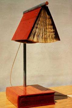 U0027Good Reading Lightu0027 Van De Amerikaanse Kunstenaar Tony May. Http://. Book  FurnitureBook LampAltered BooksTable ...