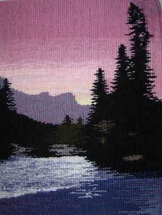 tapestry of Banff National Park Canada