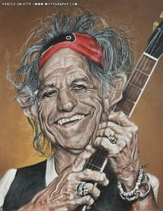Keith Richards / Rolling Stones by Christian Stellner