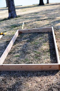 How to Build Your Own Raised Veggie Garden. Good thing Tommy is a DIY guy! This is his next project.