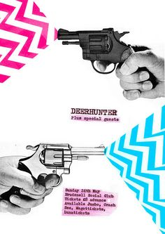 Deerhunter music gig  posters   DEERHUNTER poster   Flickr - Photo Sharing!