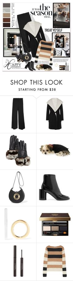 """It's Time to Treat Yo'Self!"" by likepolyfashion ❤ liked on Polyvore featuring MaxMara, Gala Gloves, Loewe, Maison Margiela, PAM, Jennifer Fisher, Bobbi Brown Cosmetics, By Terry and fashionset"