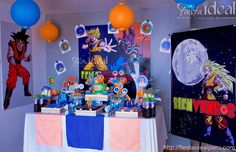 Fiesta Ideal Peru: Decoración y Catering-Candy Bar: DRAGON BALL ...