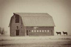 barn . antique photo . farm