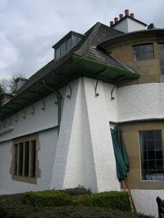 Showing detail of corner structural design of Broad Leys designed by C Vosey & completed in 1898 .....via mahala knight