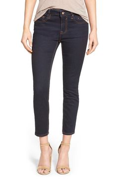 Vigoss High Rise Crop Skinny Jeans (Rinse) available at #Nordstrom