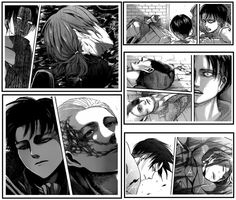 When someone says Levi is emotionless..... you must be following a different story! See this? #Levi #ShingekiNoKyojin