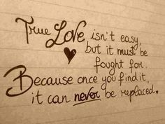 Very true every time you fall in love with someone it's different n difficult love shoulder be hard or difficult