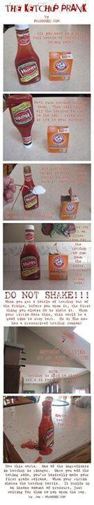 The Ketchup Prank!