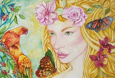 Maiao Art Craft Store, Craft Stores, Photography And Videography, Watercolour Painting, Art Pictures, Original Art, Arts And Crafts, Princess Zelda, Illustration
