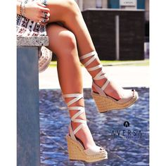 Steve Madden Secret zeppa in camoscio Steve Madden, Wedges Outfit, Stevia, Espadrilles, Outfits, Shoes, Fashion, Espadrilles Outfit, Moda