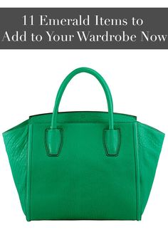Make everyone green with envy with these 11 emerald accessories.