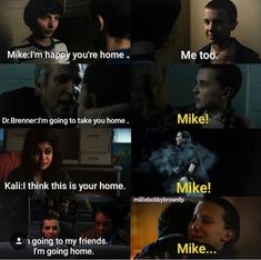 "U love how anytime someone mentions ""home"" she thinks of mike. You know you love someone when ""home"" is no longer a place, but a person."