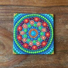 Items similar to Mini Mandala Canvas on Etsy Mandala Doodle, Mandala Canvas, Mandala Painting, Dot Painting, Mandala Art, Painting Templates, Hand Painted Canvas, Mandala Design, Painted Rocks