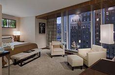 Bedroom Suite at the Fairmount Pacific Rim - Vancouver - Canada