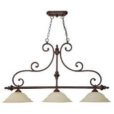 Capital Lighting 3078BB Chandler 3 Light Island Fixture Image