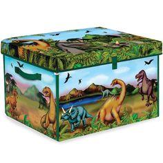 Dinosaur Toy Bin - Playmat Image