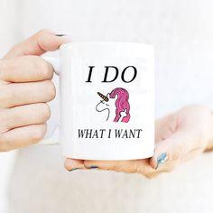 Light Magic Mug i do what i want Mugs 350ml coffeeTea unicorn Mug moring milk mugs cup best gift for your friends