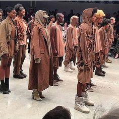 Read about Kanye West fashion line critics