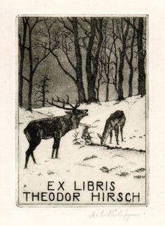 Ex libris Theodor Hirsch                                                                                                                                                                                 Mais