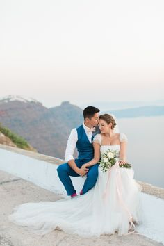Jesús Peiró Bridal Separates | Tie the Knot Santorini Wedding Planners | Rocabella Hotel Venue | Anna Rouses Photography | http://www.rockmywedding.co.uk/eleanor-wayne/