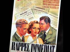 "Song from Erich von Stroheim film Rappel Immediat (1939) Marie José ""Peut-être"""