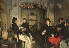 Le Prince Lointain: John Singer Sargent (1856–1925), Venitian Tavern - 1902