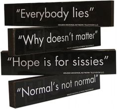 House M.D. Magnet Set Dr House Quotes, It's Never Lupus, Tv Show House, Prime Tv, Medical Series, Everybody Lies, Gregory House, Grey Anatomy Quotes, Hugh Laurie