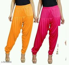Checkout this latest Patialas Product Name: *Fabulous Women's Patiala Pants Combo (Pack Of 2)* Fabric: Cotton Viscose  Waist Size: XL - 34 in XXL - 36 in  Length: Up To 40 in Type: Stitched Description: It Has 2 Pieces Of Women's Patiala Pants Pattern: Solid Country of Origin: India Easy Returns Available In Case Of Any Issue   Catalog Rating: ★4 (1170)  Catalog Name: Sana Fabulous Women's Patiala Pants Combo Vol 8 With CatalogID_813672 C74-SC1018 Code: 853-5455608-168