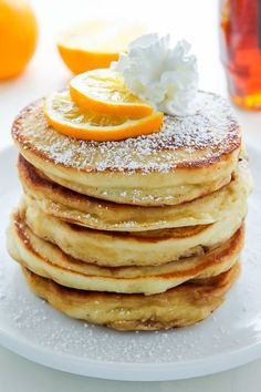 "beautifulfoodisamust: ""  Lemon Ricotta Pancakes """