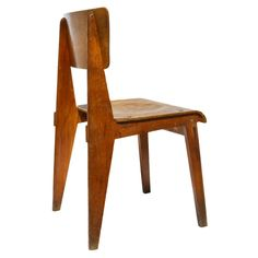 Tabouret tripode jean prouv 1938 produced by for Chaise jean prouve