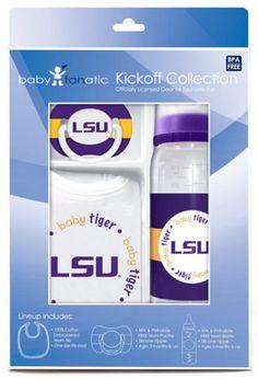 New! Gift Set Louisiana State #LSUTigers