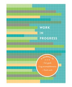 Take a look at this Chronicle Books Work in Progress Journal today!